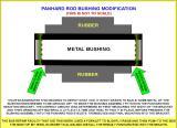 PANHARD ROD BUSHING MODIFICATION