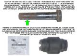 PANHARD ROD OLD BOLT AND NEW BUSHING PART NUMBER