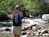 Big Rainbow Bishop Creek Salmon Eggs August 2003