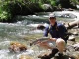 5.5lbs 28'' Rainbow 'Western Outdoor News' Whopper of the week August 2003