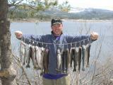 Stringer of 15 Rainbows Memorail Weekend 2003 Loon Lake