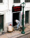 Sidewalk Repair at Taberna Popular
