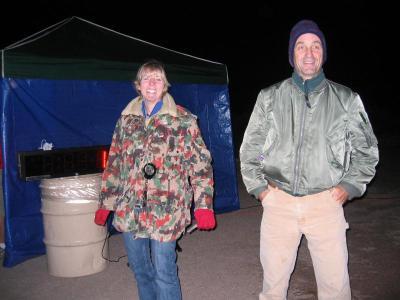 Geri K & Mr. Trail Safety, Larry Gassan