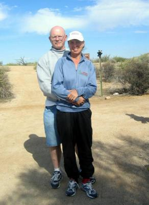 Connie Ridenour - 1st Virgin (with husband Ed)