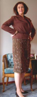 Finished Skirt Side I