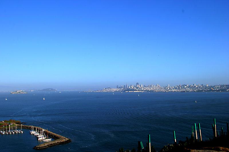alcatraz across the bay