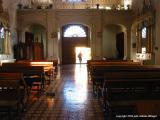 empty church, antigua, guatemala