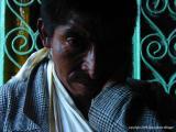 man at the shrine, san andreas iztapa, guatemala