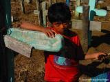 boy at cemetery, santa maria de jesus, guatemala