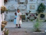 sunday best at the cemetery, antigua, guatemala