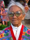 woman with sunglasses, antigua, guatemala