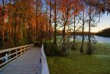 Greenfield Lake at Sunset1