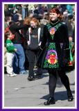Marching and Doing the Jig on St. Paddy's Day