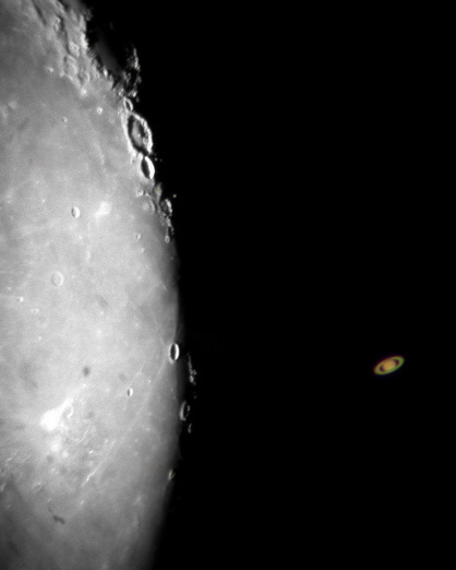 Saturn/Moon Occultation