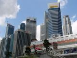 Big city skyscrapers