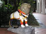 A Raffles lion