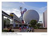 Epcot theme park entrance