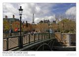 Bridge over La Seine river