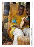 Making african masks