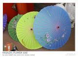 Chinese silk umbrellas I