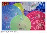 Chinese silk umbrellas III *