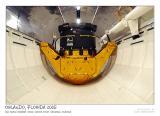 Shuttle inside: cargo bay