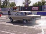 Chevy II burn out