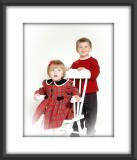 Jacob & Madelyn Christmas photos
