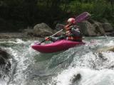 Discesa torrente Onde e visita a Vallouise - 2004