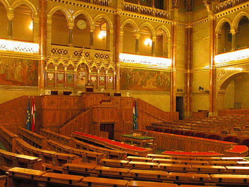 The Parliament (Deputy Council chamber).