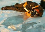 Dans cette position je photographiais un éolithe de glace en contre-jour à -32° sur le fleuve St-Laurent. Voyez le résulta en cliquant sur ce lien: http://www.pbase.com/pijoly/image/56068807
