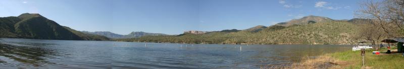 Apache Lake Panorama