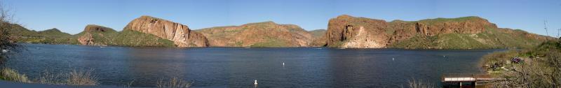 Canyon Lake Panorama
