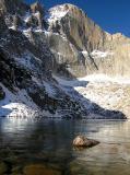Chasm Lake below Longs Peak