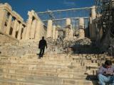 The Acropolis - the Propylaea