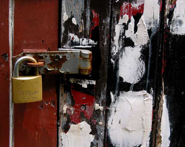 locked .