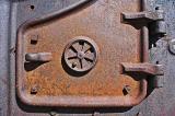 Machine door