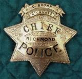richmond chief of police badge