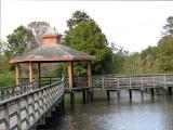 Gazebo in Marsh Area
