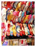 colourful slippers