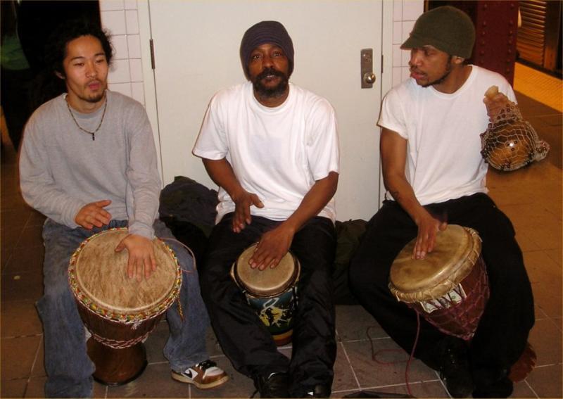 Lexington Avenue Subway Percussionists