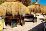 Beach bar, Cala Mondrago