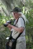 Sue with camera ready