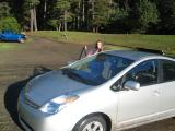 Jim's new car THIS year!  A prius (I named it D'artagnan)