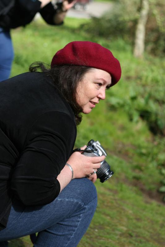 Cheryl shoots turtles