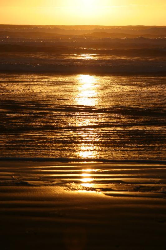 Colour sunset