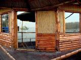 Restaurant and Sava River
