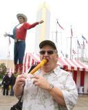 Corndog and Big Tex