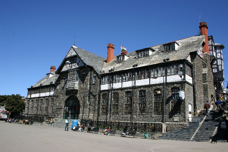 The Military HQ, Shimla, Himachal Pradesh