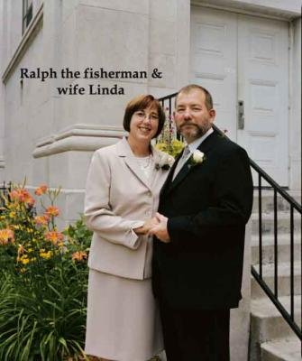 Ralph the Fisherman and his wife Linda